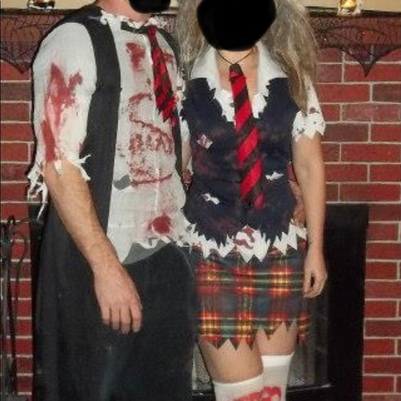 Zombie Schoolgirl Costume - by Leg Avenue